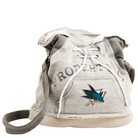 San Jose Sharks NHL Property Of Hoodie Duffel