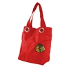 Chicago Blackhawks NHL Color Sheen Tote (Light Red)