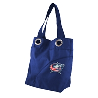 Columbus Blue Jackets NHL Color Sheen Tote (Navy)