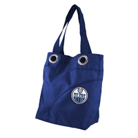 Edmonton Oilers NHL Color Sheen Tote (Navy)