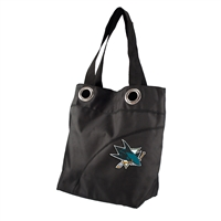San Jose Sharks NHL Color Sheen Tote (Black)
