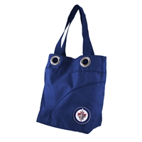 Winnipeg Jets NHL Color Sheen Tote (Navy)