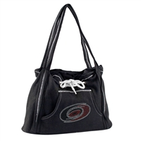 Carolina Hurricanes NHL Sport Noir Hoodie Purse