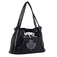 Toronto Maple Leafs NHL Sport Noir Hoodie Purse