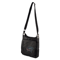 Columbus Blue Jackets NHL Sport Noir Sheen Cross-body