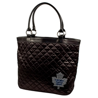 Toronto Maple Leafs NHL Sport Noir Quilted Tote