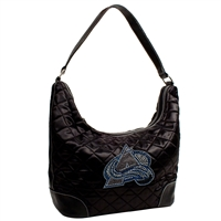 Colorado Avalanche NHL Sport Noir Quilted Hobo