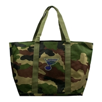 St. Louis Blues NHL Camo Tote