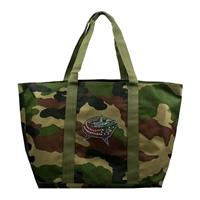 Columbus Blue Jackets NHL Camo Tote