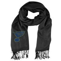 St. Louis Blues NHL Black Pashi Fan Scarf