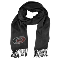 Carolina Hurricanes NHL Black Pashi Fan Scarf