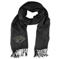 Nashville Predators NHL Black Pashi Fan Scarf