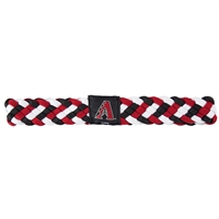 Arizona Diamondbacks MLB Braided Head Band 6 Braid