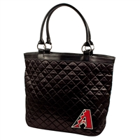 Arizona Diamondbacks MLB Quilted Tote (Black)