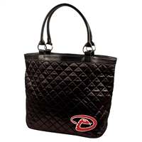 Arizona Diamondbacks MLB Quilted Tote (Black D)