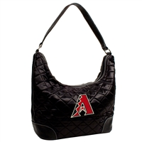 Arizona Diamondbacks MLB Quilted Hobo (Black)