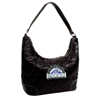 Colorado Rockies MLB Quilted Hobo (Black)