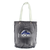 Colorado Rockies MLB Vintage Denim Shopper