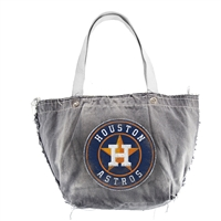 Houston Astros MLB Vintage Denim Tote