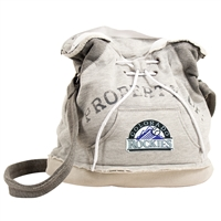 Colorado Rockies MLB Property Of Hoodie Duffel