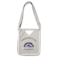 Colorado Rockies MLB Hoodie Crossbody Bag