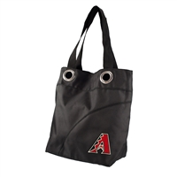 Arizona Diamondbacks MLB Color Sheen Tote (Black)