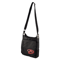 Arizona Diamondbacks MLB Color Sheen Cross-body Bag (Black)