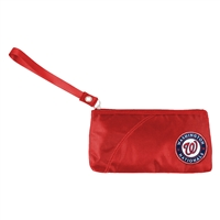 Washington Nationals MLB Color Sheen Wristlet (Light Red)