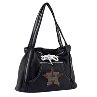 Houston Astros MLB Sport Noir Hoodie Purse