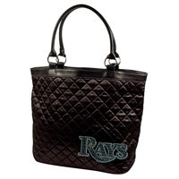 Tampa Bay Rays MLB Sport Noir Quilted Tote