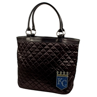 Kansas City Royals MLB Sport Noir Quilted Tote