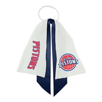 Detroit Pistons NBA Ponytail Holder