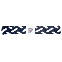 Oklahoma City Thunder NBA Braided Head Band 6 Braid
