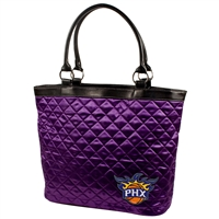 Phoenix Suns NBA Quilted Tote (Purple)