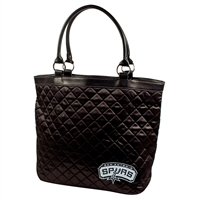 San Antonio Spurs NBA Quilted Tote (Black)