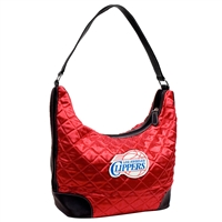 Los Angeles Clippers NBA Quilted Hobo (Light Red)