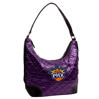 Phoenix Suns NBA Quilted Hobo (Purple)