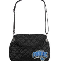 Orlando Magic NBA Quilted Saddlebag (Black)