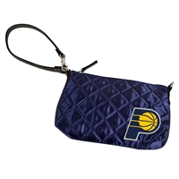 Indiana Pacers NBA Quilted Wristlet (Navy)