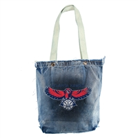 Atlanta Hawks NBA Vintage Denim Shopper