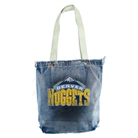 Denver Nuggets NBA Vintage Denim Shopper