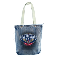 New Orleans Pelicans NBA Vintage Denim Shopper