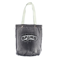 San Antonio Spurs NBA Vintage Denim Shopper