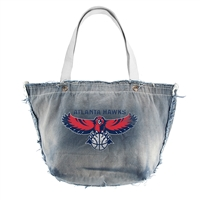 Atlanta Hawks NBA Vintage Denim Tote