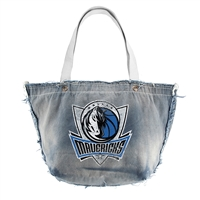 Dallas Mavericks NBA Vintage Denim Tote
