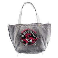 Toronto Raptors NBA Vintage Denim Tote