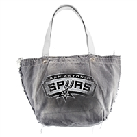San Antonio Spurs NBA Vintage Denim Tote
