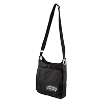 San Antonio Spurs NBA Color Sheen Cross-body Bag (Black)
