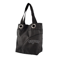 San Antonio Spurs NBA Sport Noir Sheen Tote