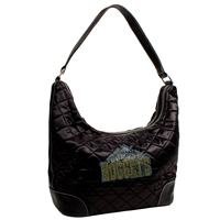 Denver Nuggets NBA Sport Noir Quilted Hobo